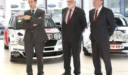 John Mulholland Motors to Sponsor Ulster Rally