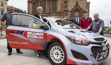 HISTORIC CITY WELCOMES ULSTER RALLY TO EBRINGTON