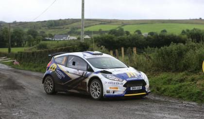Evans does the double at the John Mulholland Motors Ulster Rally 2016