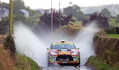Tight at the top, Cronin lead as Pryce charges after Day One of the Ulster Rally 2017