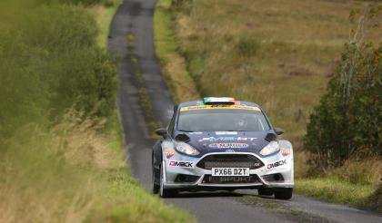 Cronin clinches dramatic victory at the John Mulholland Motors Ulster Rally 2017