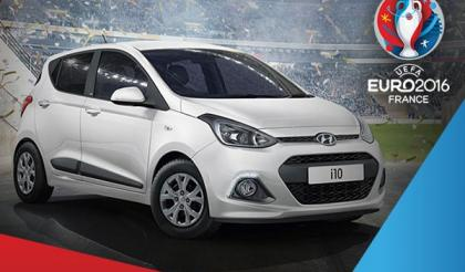 To celebrate UEFA Euro 2016 in France, Hyundai have launched the i10 and i20 GO! special editions.