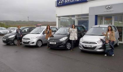 Four Sisters Collect Four Cars!
