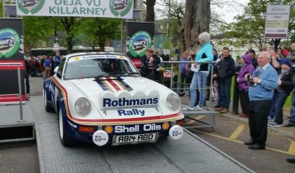 Ulster Rally Legend Walter Röhrl to drive John's Porsche at this years DÉJÀ VU run