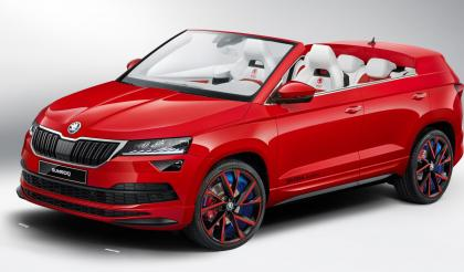 Drop top Skoda Karoq anyone?