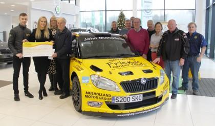 Targa Rally raises £14,000 for Friends of the Cancer Centre
