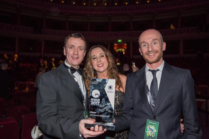 John Mulholland Wins UK Number 1 Skoda Retailer for an unprecedented 3rd time!