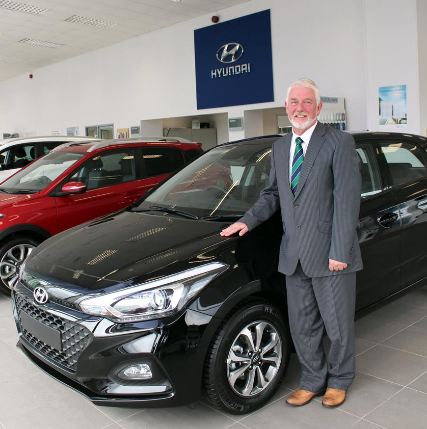 Billy Sweeney adds 35 years experience to our Hyundai team in Campsie