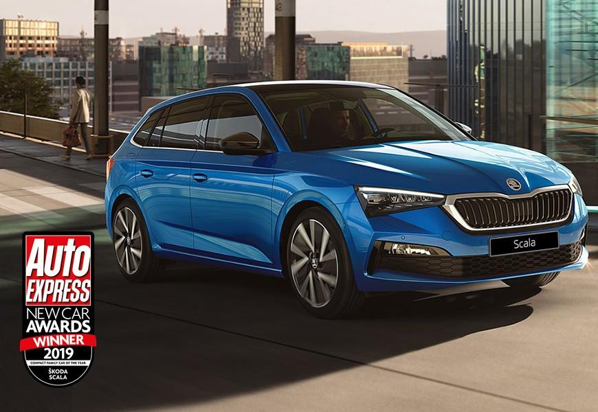 ŠKODA triumph at 2019 Auto Express New Car Awards