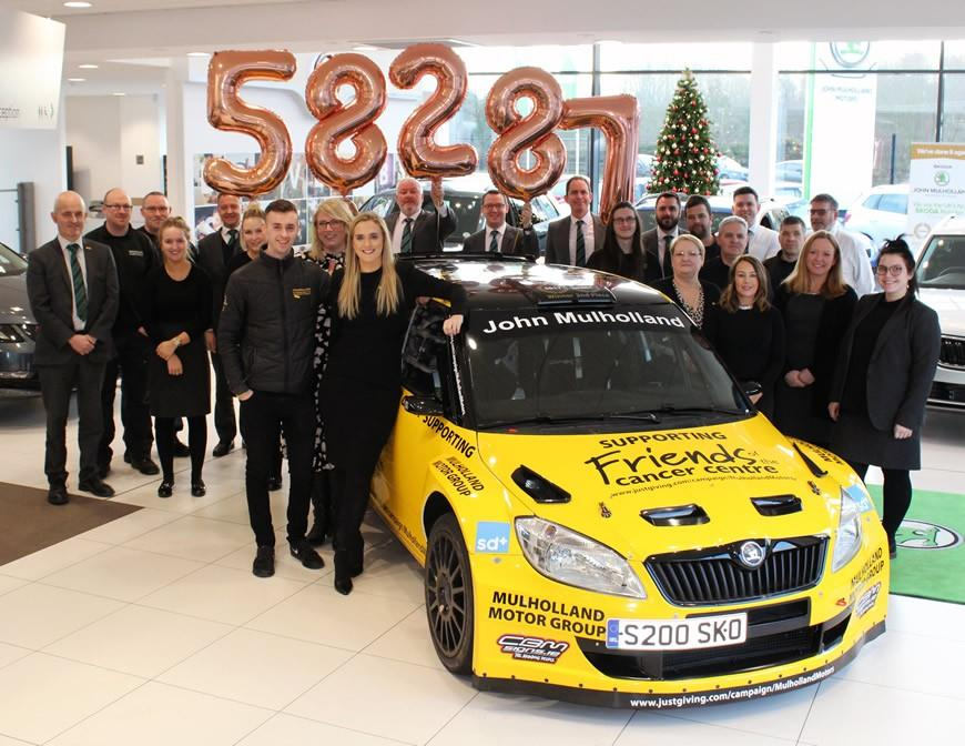 £58,287 raised for Friends of the Cancer Centre!