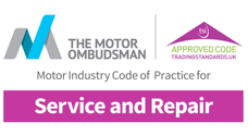 The Motor Ombudsman Approved for Service and Repair