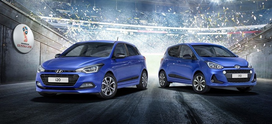 To Celebrate The Fifa World Cup In Russia This Summer Hyundai Have Launched Go Special Editions For I10 I20 And Tucson